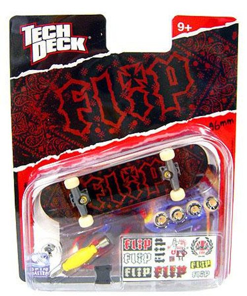 Tech Deck Flip 96mm Mini Skateboard [Red & Black Bandana]
