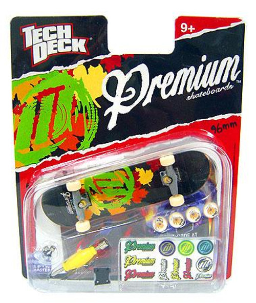 Tech Deck Premium 96mm Mini Skateboard [Leaves]