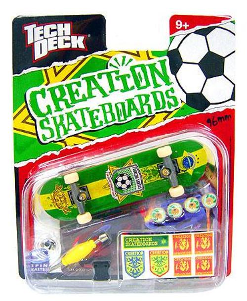Tech Deck Creation 96mm Mini Skateboard [Fabrizio Santos]