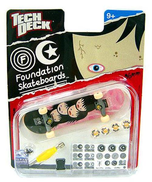 Tech Deck Foundation 96mm Mini Skateboard [Girl]