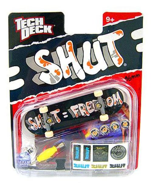 Tech Deck SHUT 96mm Mini Skateboard [Shut = Freedom]
