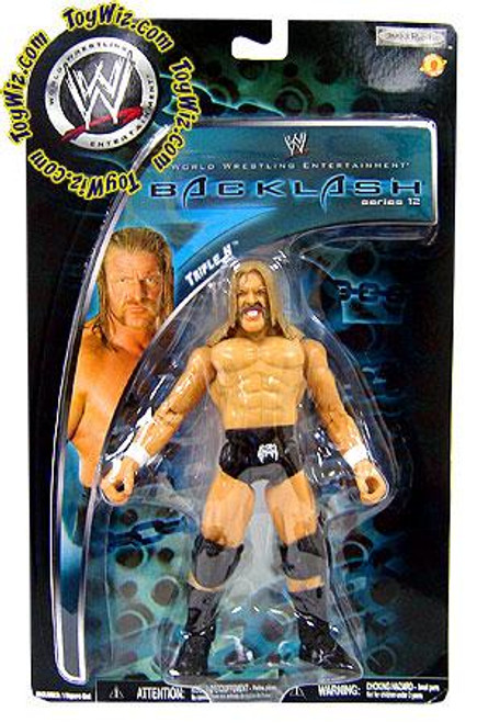 WWE Wrestling Backlash Series 12 Triple H Action Figure