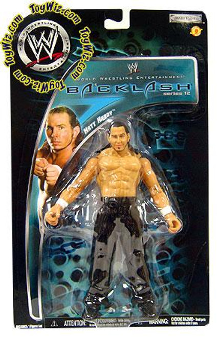 WWE Wrestling Backlash Series 12 Matt Hardy Action Figure