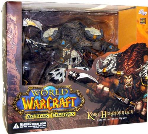 World of Warcraft Series 3 Korg Highmountain Action Figure