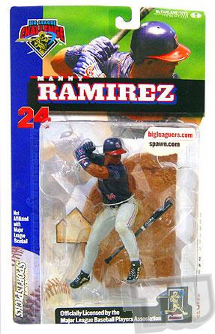McFarlane Toys MLB Cleveland Indians Sports Picks Big League Challenge Manny Ramirez Exclusive Action Figure