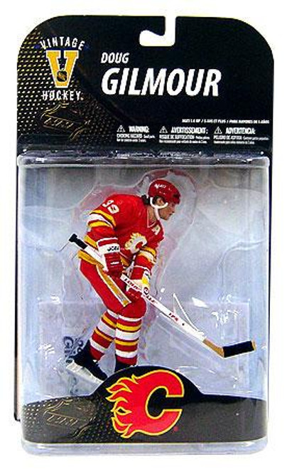 McFarlane Toys NHL Calgary Flames Sports Picks Legends Series 7 Doug Gilmour Action Figure [Flames]