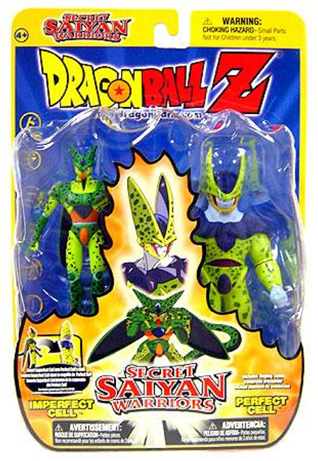 Dragon Ball Z Secret Saiyan Warriors Imperfect Cell & Perfect Cell Action Figure 2-Pack