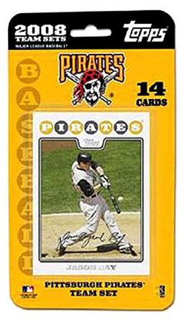 MLB 2008 Topps Baseball Cards Pittsburgh Pirates Team Set