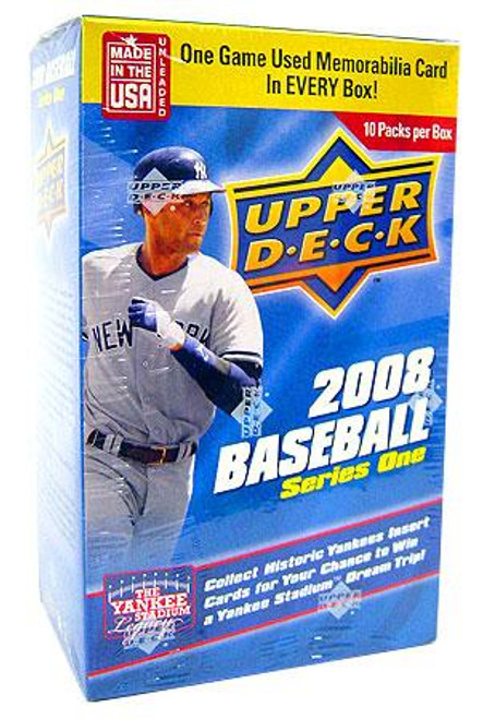 MLB 2008 Series 1 Baseball Cards 2008 Upper Deck Series 1 Baseball Cards Trading Card Blaster Box