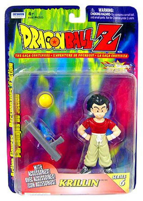 Dragon Ball Z Series 6 Krillin Action Figure