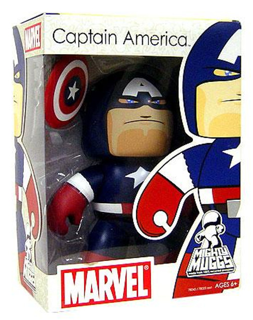 Marvel Mighty Muggs Series 2 Captain America Vinyl Figure