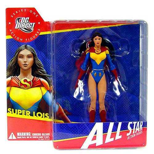 DC Superman All Star Series 1 Super Lois Action Figure