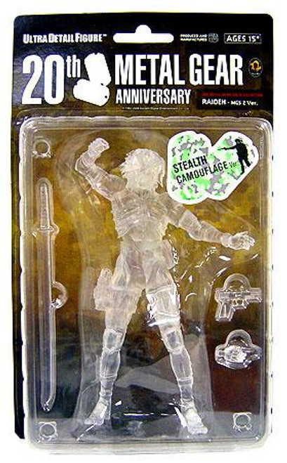 Metal Gear Solid 2 Sons of Liberty 20th Anniversary Raiden Exclusive Action Figure [Stealth Camouflage Variant]