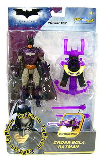 The Dark Knight Power Tek Batman Action Figure [Cross-Bola]
