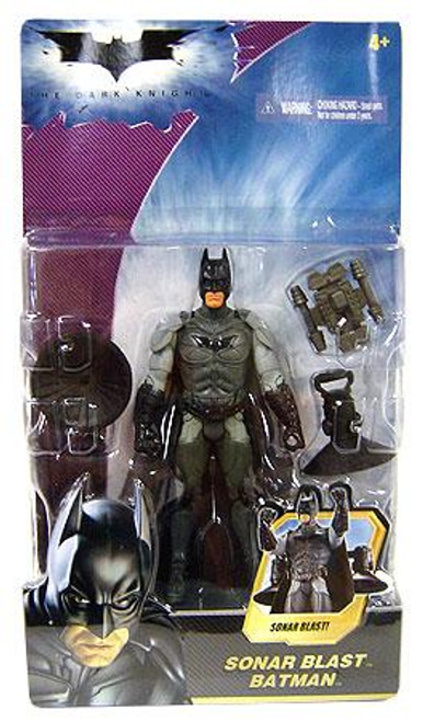 The Dark Knight Batman Action Figure [Sonar Blast]
