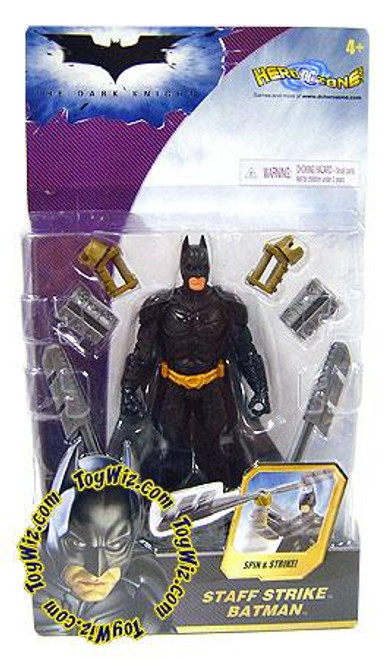 The Dark Knight Batman Action Figure [Staff Strike, 2008 Packaging]
