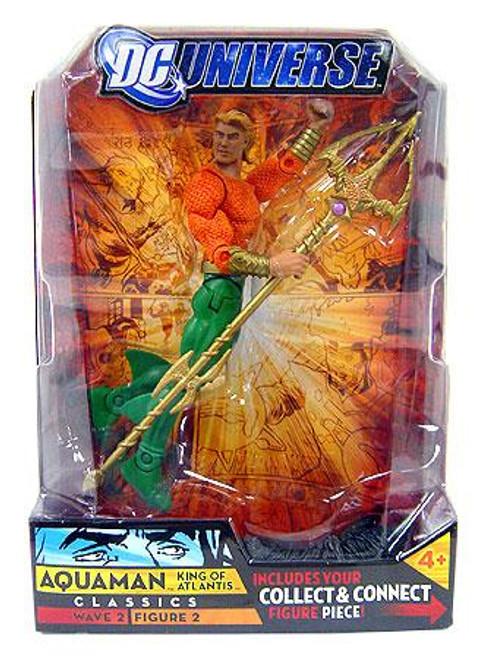 DC Universe Classics Wave 2 Aquaman Action Figure #2 [Long Hair]