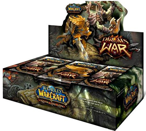 World of Warcraft Trading Card Game Drums of War Booster Box [24 Packs]