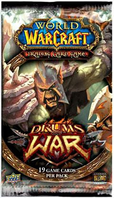 World of Warcraft Trading Card Game Drums of War Booster Pack