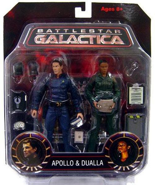 Battlestar Galactica Apollo & Dualla Action Figure 2-Pack