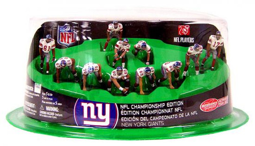 McFarlane Toys NFL Sports Picks Ultimate Team Sets New York Giants Offense 2-Inch Team Set [Championship Edition]