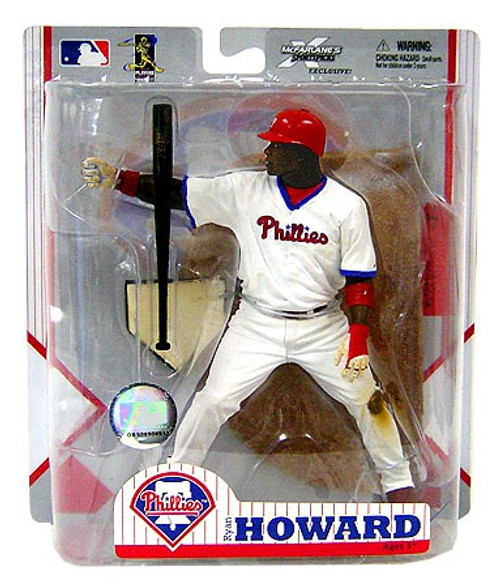 McFarlane Toys MLB Philadelphia Phillies Sports Picks Exclusive Ryan Howard Exclusive Action Figure [Home Alternate Jersey]