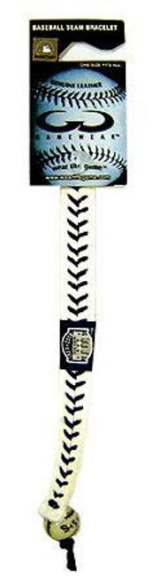 MLB New York Yankees Yankees Stadium Leather Bracelet