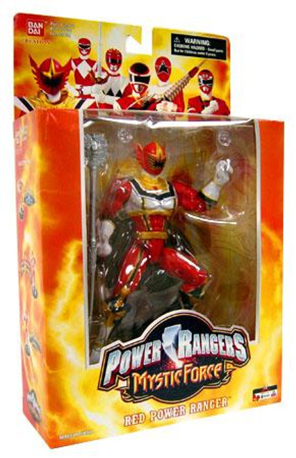 Power Rangers Deluxe Collector Figures Mystic Force Red Power Ranger Action Figure