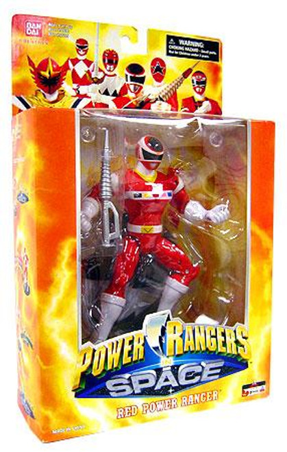 Power Rangers Deluxe Collector Figures In Space Red Power Ranger Action Figure
