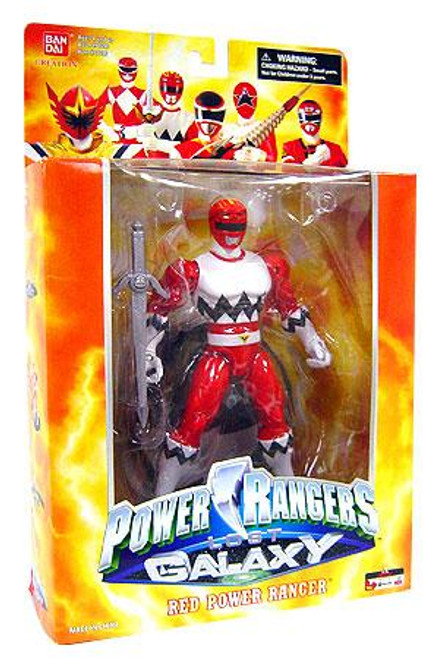 Power Rangers Deluxe Collector Figures Lost Galaxy Red Power Ranger Action Figure