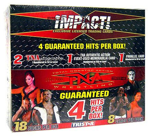 TNA Wrestling TNA Impact Hobby Highlights Trading Card Box