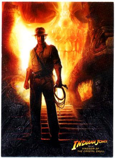 Indiana Jones Kingdom of the Crystal Skull Trading Card Set [Base Set]