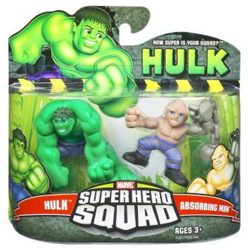 Super Hero Squad Hulk & Absorbing Man Action Figure 2-Pack