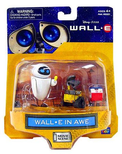 Disney / Pixar Movie Scene Wall-E In Awe Mini Figure 2-Pack