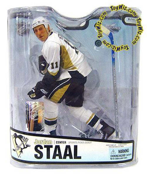 McFarlane Toys NHL Pittsburgh Penguins Sports Picks Series 18 Jordan Staal Action Figure [White Jersey Variant]