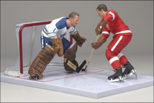 McFarlane Toys NHL Detroit Red Wings & Toronto Maple Leafs Sports Picks Exclusive Gordie Howe & Johnny Bower Exclusive Action Figure 2-Pack