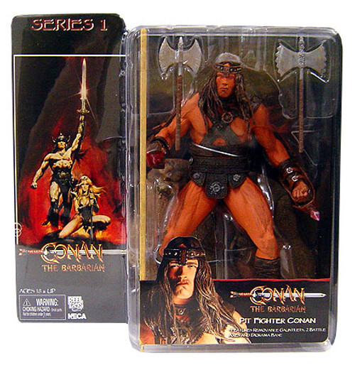NECA Conan the Barbarian Series 1 Conan Action Figure [Pit Fighter]