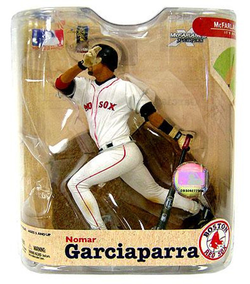 McFarlane Toys MLB Boston Red Sox Sports Picks Series 21 Nomar Garciaparra Action Figure [Boston Jersey Variant]