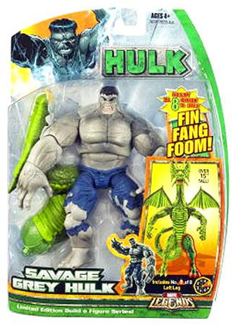 Marvel Legends Savage Grey Hulk Action Figure