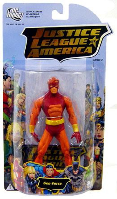 DC Justice League of America Series 3 Geo-Force Action Figure