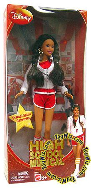 Disney High School Musical School Spirit Gabriella Doll