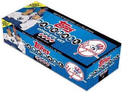 MLB New York Yankees 2008 Topps Baseball Cards Complete Set [New York Yankees]