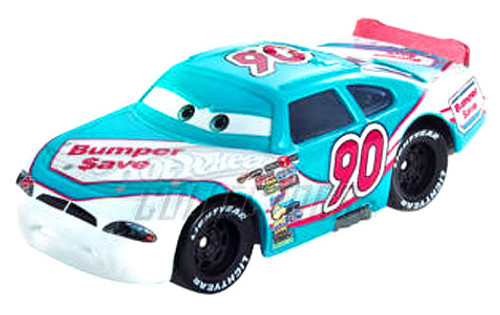 Disney Cars Speedway of the South No. 90 Bumper Save Exclusive Diecast Car