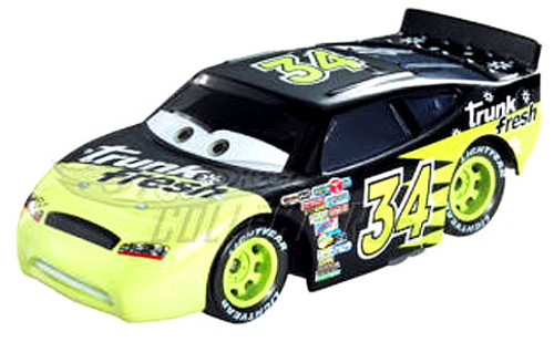 Disney Cars Speedway of the South No. 34 Trunk Fresh Exclusive Diecast Car