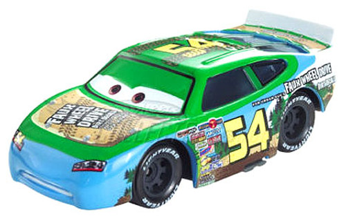 Disney Cars Speedway of the South No. 54 Faux Wheel Drive Exclusive Diecast Car