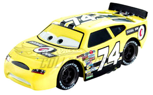 Disney Cars Speedway of the South No. 74 Sidewall Shine Exclusive Diecast Car