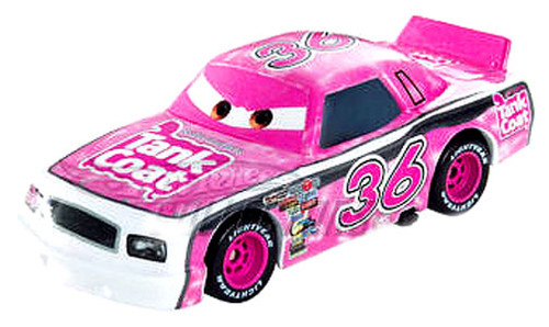 Disney Cars Speedway of the South No. 36 Tank Coat Exclusive Diecast Car