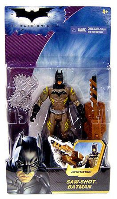 The Dark Knight Batman Action Figure [Saw Shot]