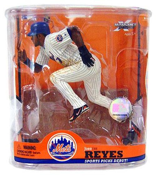 McFarlane Toys MLB New York Mets Sports Picks Series 22 Jose Reyes Action Figure [Black Wristband Variant]