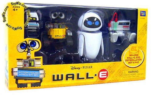 Disney / Pixar Wall-E Exclusive Figure 4-Pack